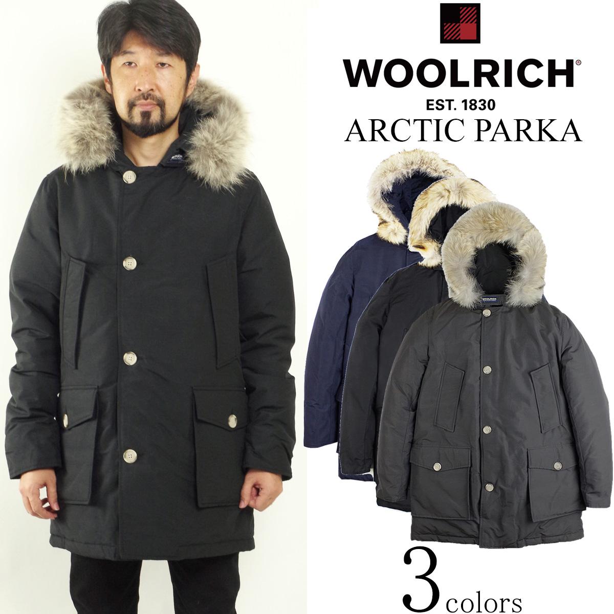 ウールリッチ ジョンリッチ&ブロス WOOLRICH アークティックパーカ DF (防寒 日本未発売モデル ダウン コート ジャケット パーカー WO1674-172MWOCPS1674)
