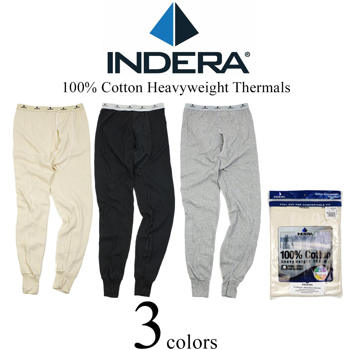 c65085bf5b74 In Delaware Milnes INDERA MILLS 839DR cotton heavy weight thermal bottom  underwear (mud, wow ...