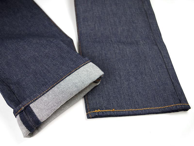 Levi's LEVI's 501-0000 original button fly straight jeans rigid STF BIG SIZE (シュリンクトゥ fit raw denim USA lines)