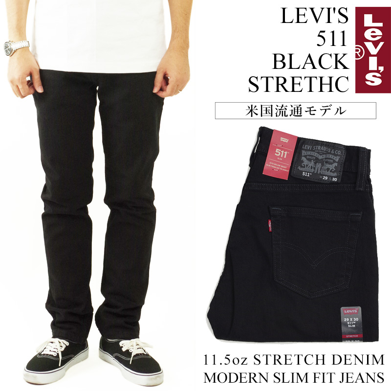 4f9f9e9afdd Jalana: Levis LEVI' S 511-4406 slim fitting jeans black stretch (511 ...
