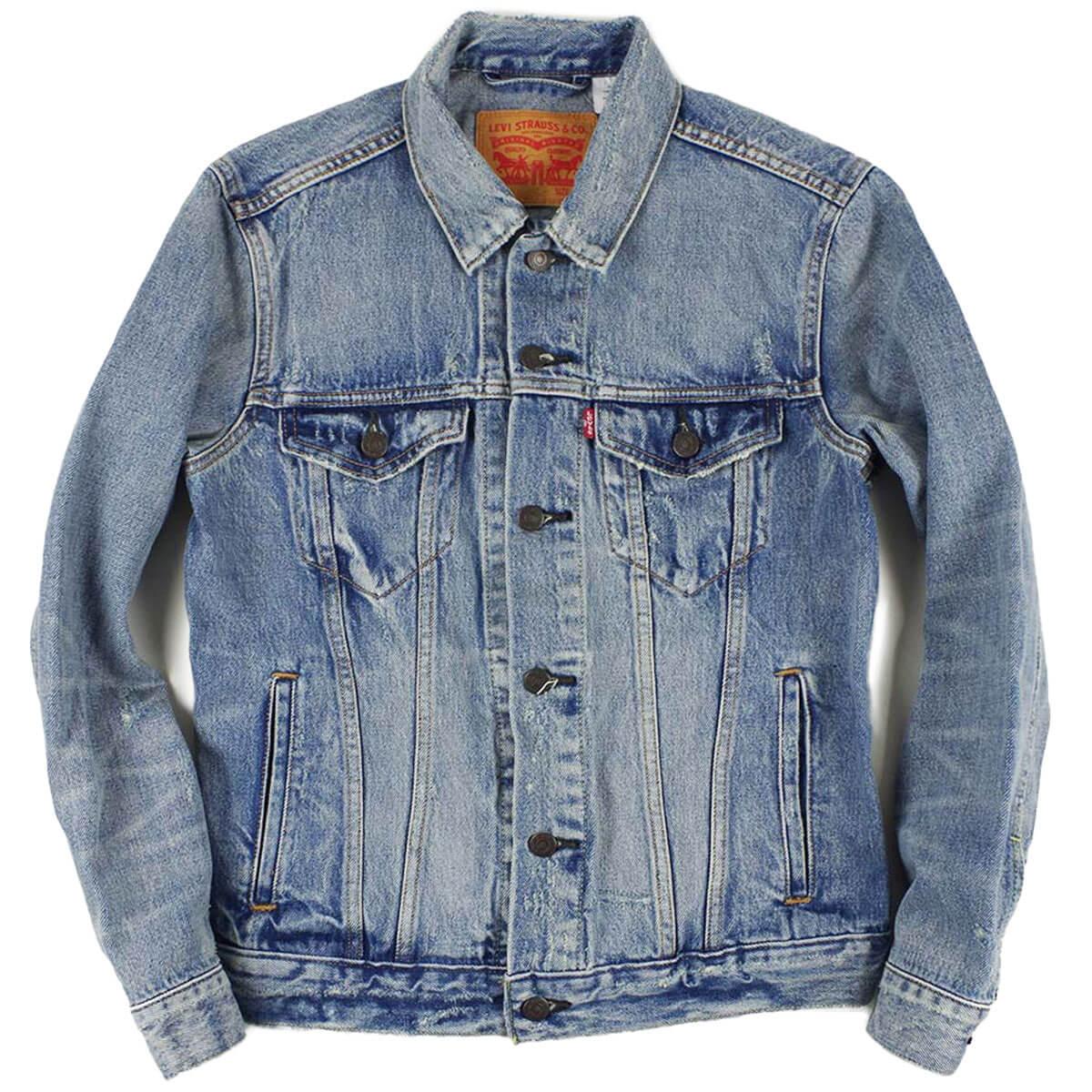 0f0844b7a880 Jalana  The Levis LEVI S  72334 denim jacket the trucker queen (THE TRUCKER  3RD ジージャン QUEEN bleach)
