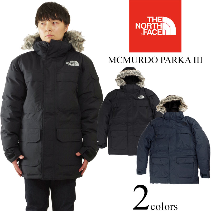 North Face THE NORTH FACE Mackmurdo parka 3 (MCMURDO PARKA III down jacket  parka) ae562f36ac72