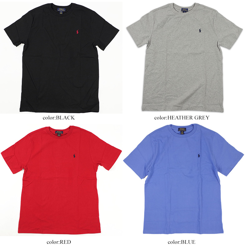 crew neck polo shirts