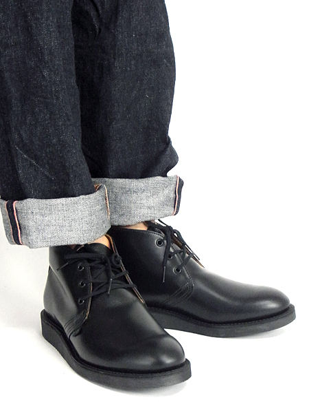 e07bc1187 ... Redwing RED WING #9196 chukka boots postman black (POSTMAN CHUKKA  service shoes made in