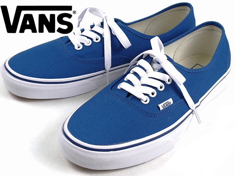 0fd20c2f3c Jalana  Vans VANS United States standard authentic pop check toe lube roux (AUTHENTIC  BLUE PRINT TRUE BLUE)