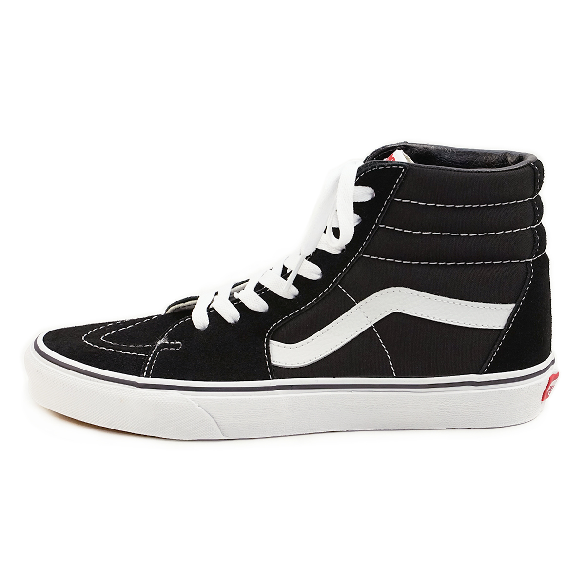 Jalana  Vans VANS United States standard SK8-HI skating high black   white ( SK8-HI SKOOL Black Hi-Top Skate casual )  b9c2e3b71