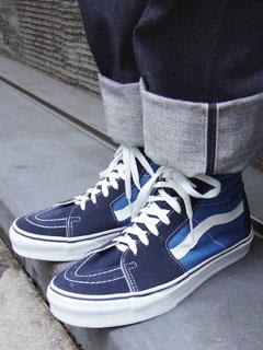 navy blue vans sk8 hi