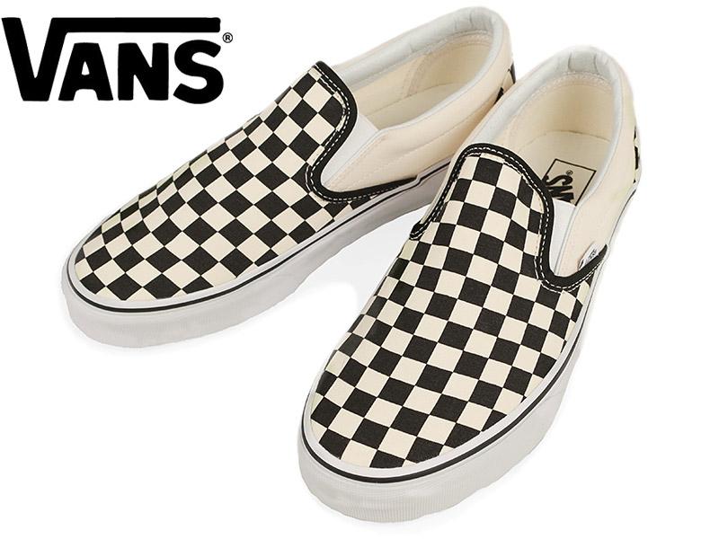 0d2c697fb Jalana: Vans VANS United States standard classical music slip-ons black /  white checker (station wagons slip-on CLASSIC SLIP-ON Black and White  Checker) ...