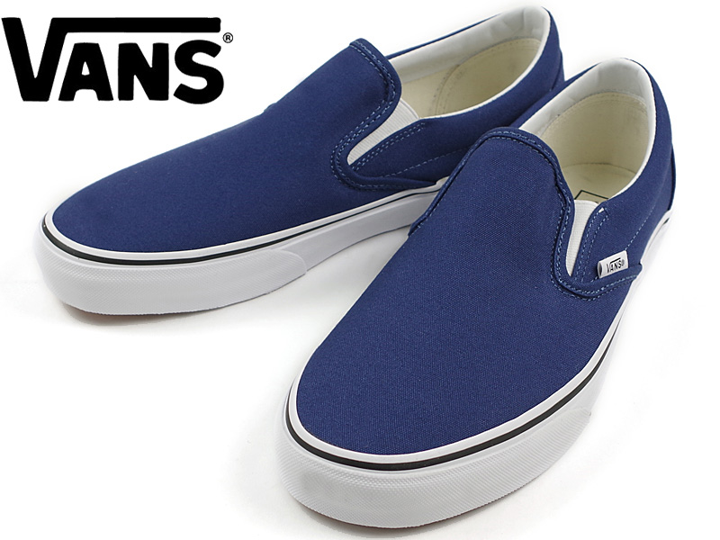 Vans VANS United States standard classic slip-on Twilight Blue (CLASSIC SLIP -ON Twilight Blue )