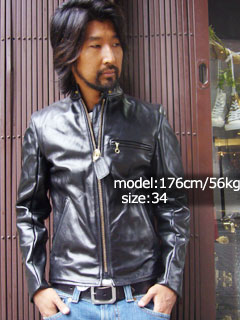 Vanson VANSON B シングルライ dozen black MADE IN USA ( BLACK leather jacket )