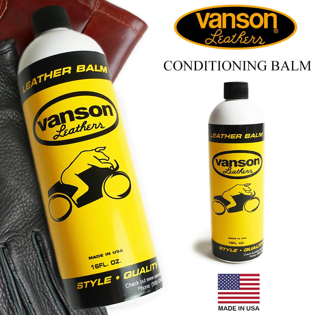バンソン VANSON 定番の人気シリーズPOINT(ポイント)入荷 ケアオイル CONDITIONING BALM 定番スタイル コンディショニングバーム