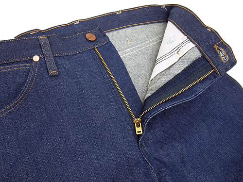 Wrangler 13MWZ Wrangler カウボーイカットジーン rigid BIG SIZE (COWBOY CUT JEAN RIGID raw denim)