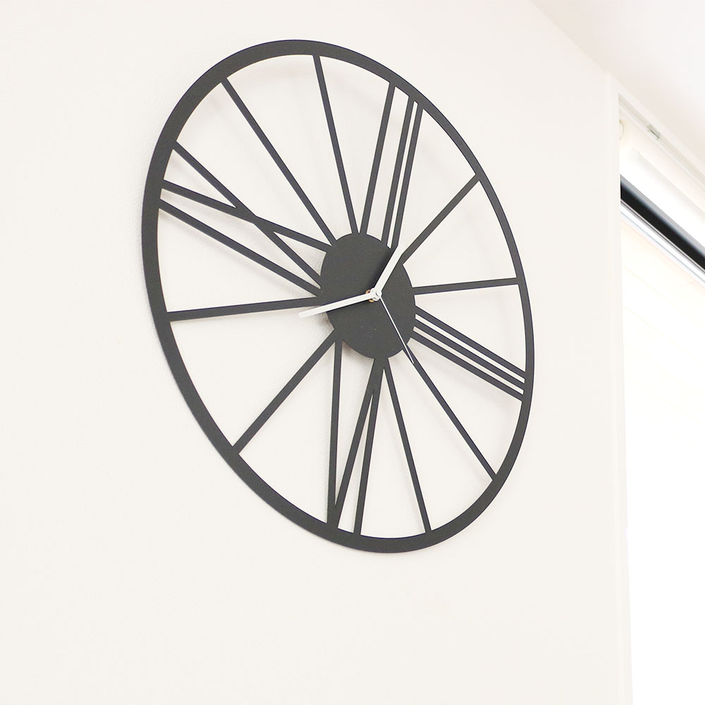 BROAD Time 掛け時計 壁掛け時計 デザイナーズ 北欧 おしゃれ モノトーン