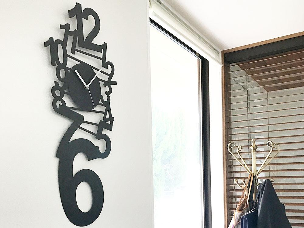 掛け時計 壁掛け時計 デザイナーズEQUAL TWELVE=12 北欧 おしゃれ モノトーン