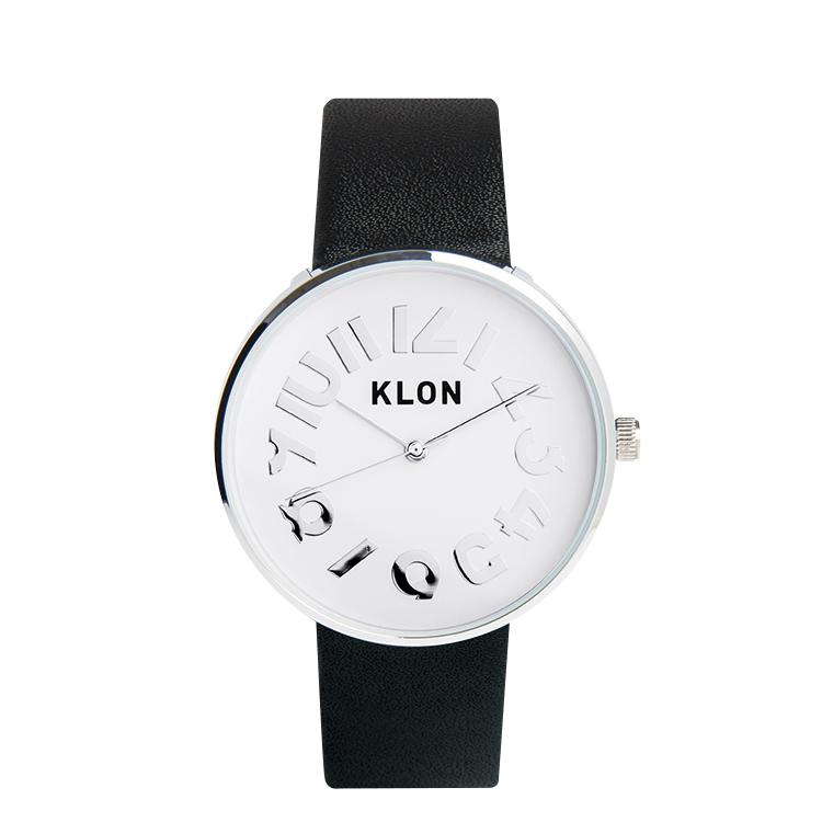 『HIDE TIME BLACK Ver.SILVER』KLON クローン 腕時計 シンプル おしゃれ 個性的 かわいい ギフト 記念日 誕生日