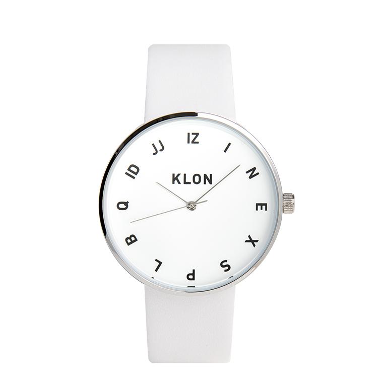 KLON 腕時計 時計 MOCK NUMBER WHITE