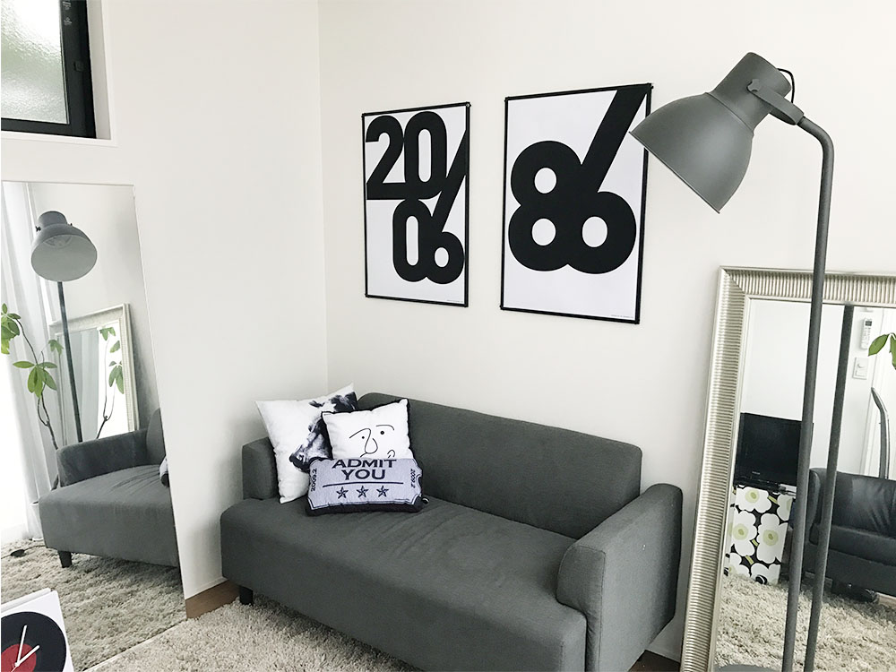 Poster North Europe Art Poster Designers Monochrome Interior Fashion U203b Selling According To The Frame