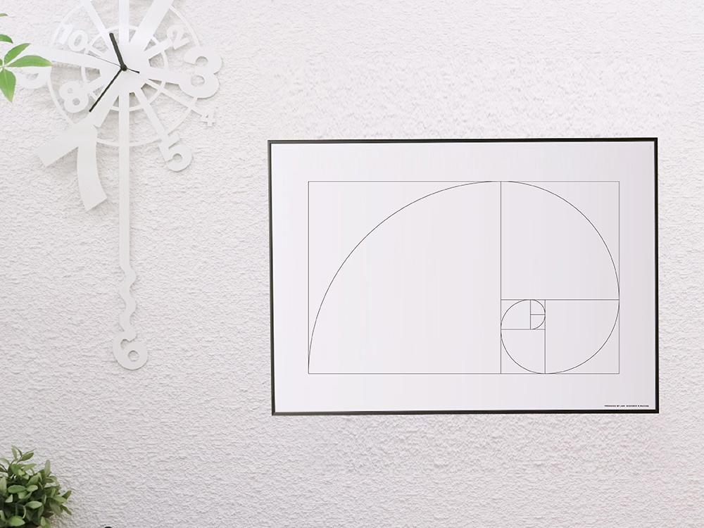Poster B2 North Europe Art Poster Designers Monochrome Interior Fashion U203b Selling According To The Frame