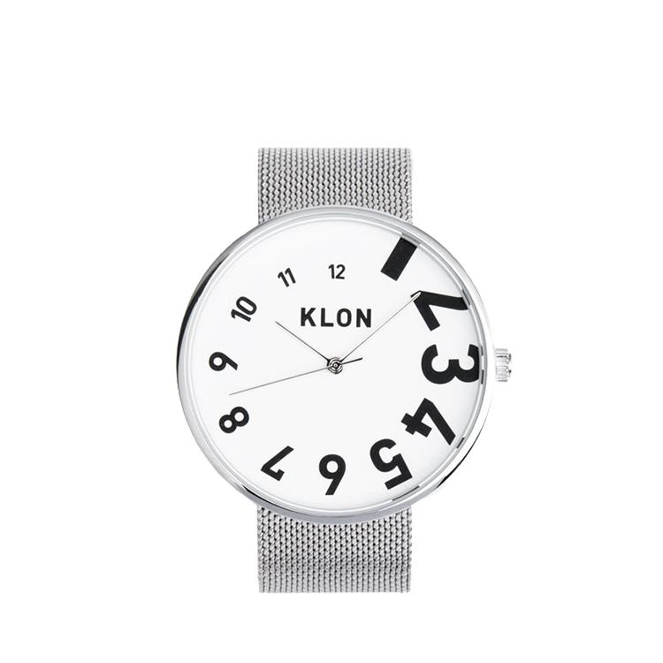 KLON 腕時計 時計 EDDY TIME -SILVER MESH- 40mm