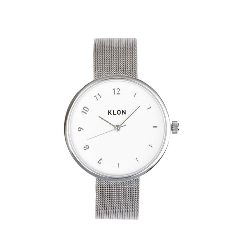 KLON 腕時計 時計 CONNECTION ELFIN LATER -SILVER MESH-