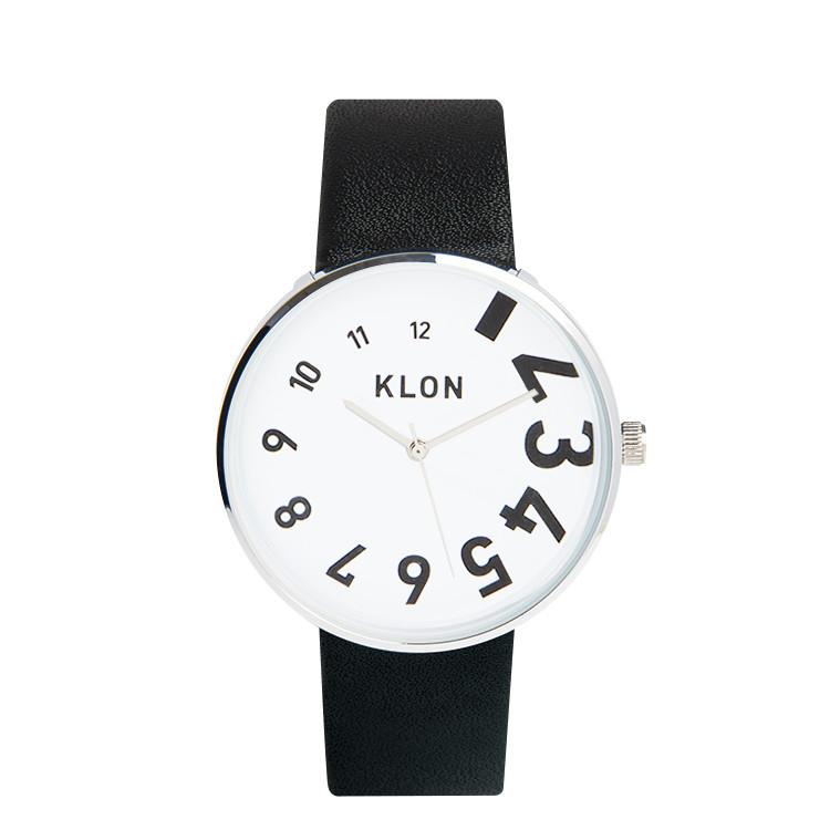 【送料無料】KLON クローン モノトーン シンプル 『EDDY TIME BLACK 40mm』KLON クローン 腕時計 シンプル おしゃれ 個性的 かわいい ギフト 記念日 誕生日