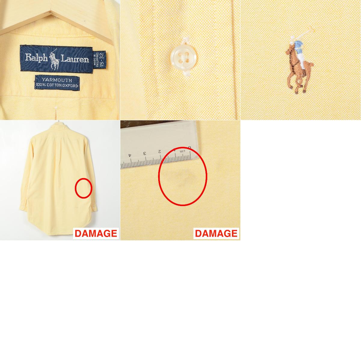 拉尔夫劳伦短袖子的正装衬衫 15 32 人 L 拉尔夫劳伦 /wei1496 150912
