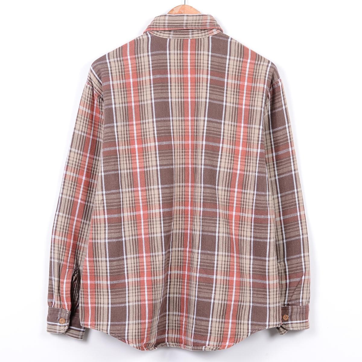 J海便士BIG MAC巨无霸USA制造长袖子重的法兰绒衬衫人L J.C.Penney/wei8935 150826