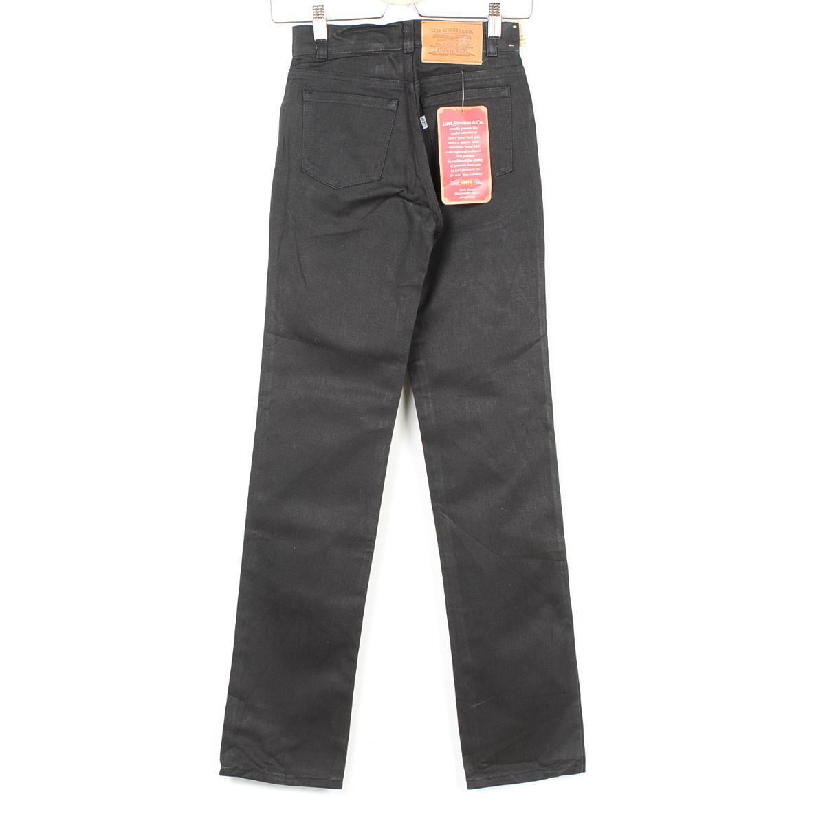 用闪光器 deadstock DEADSTOCK 80 年代 Levis 519 美国做成的棉裤子女士 w25 老式李维斯 /wek2035 151018