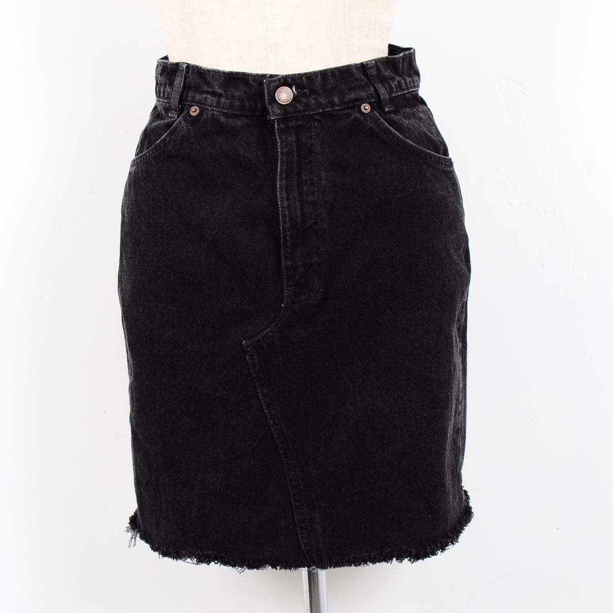 Levis Black Denim Skirt - Dress Ala