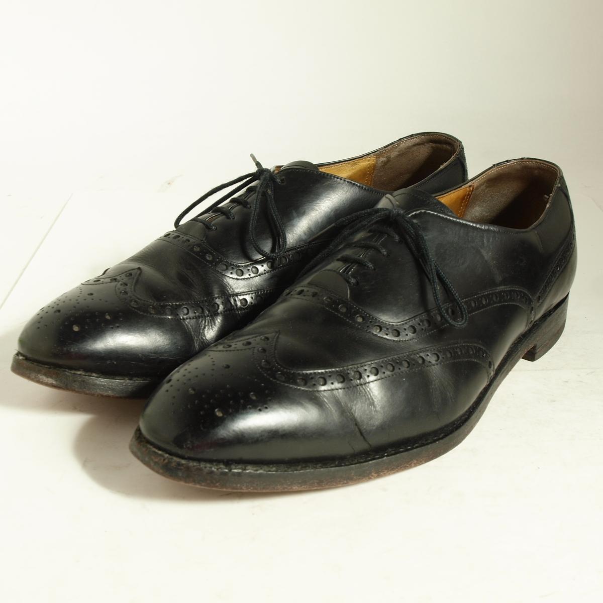 约翰斯顿和墨菲 ARISTOCRAFT 阿里斯托工艺美国翼尖鞋 28.5 厘米 10.5 D B 男装约翰斯顿墨菲 /boj4183 160730