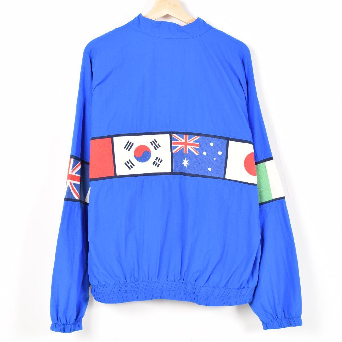 国旗图案尼龙夹克男装 XL 圣地亚哥 SPORTA 1541 /wev2747
