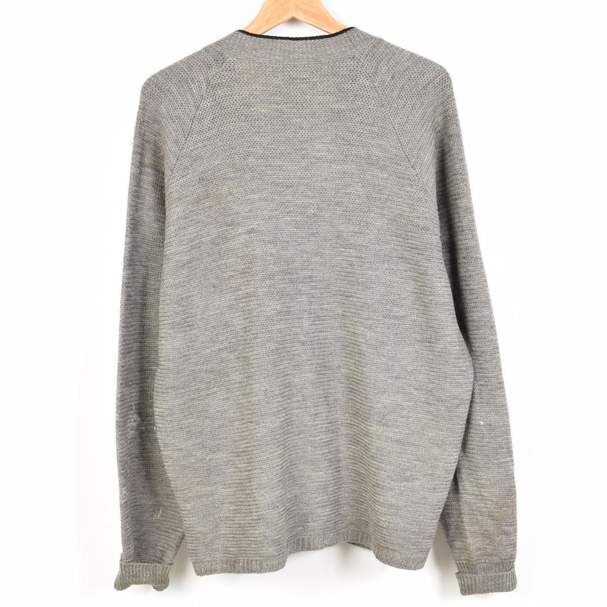 羊毛编织物对襟毛衣人L LOCH LOMOND/weu9675