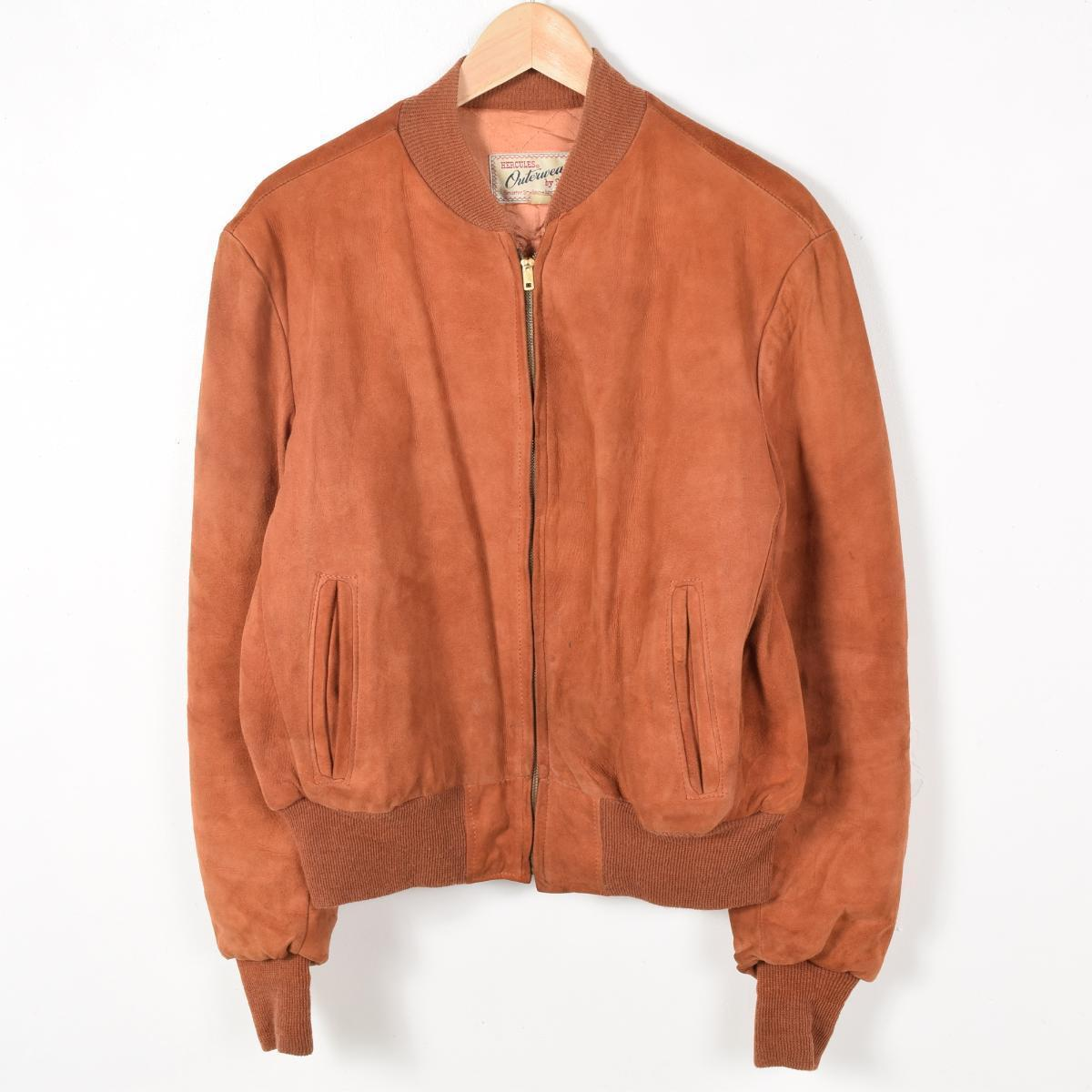 fad0711e 50s Sears HERCULES Hercules USA-Ma-1 jacket mens M vintage Sears /weu2432.
