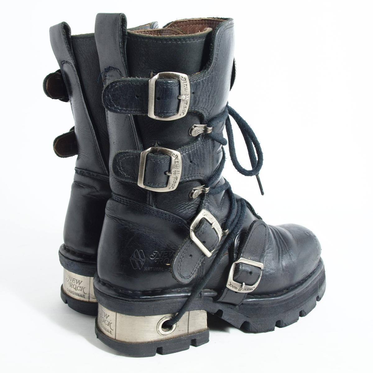 新锁头高跟鞋长筒靴女士23.5cm NEW ROCK/bok0051