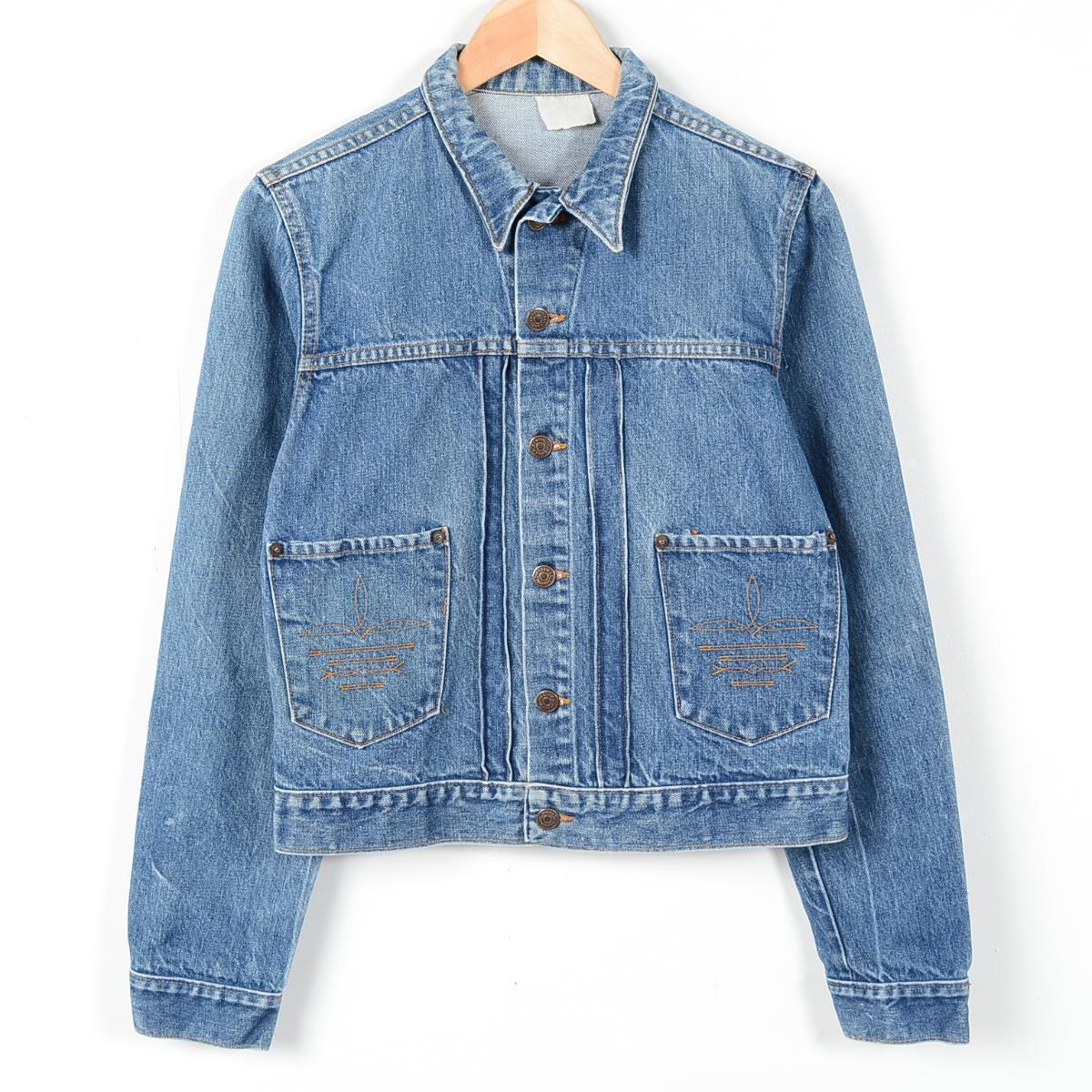f52b0c19a 80s Ralph Lauren POLO WESTERN denim jacket G Jean men XS Lady u0027s L  vintage