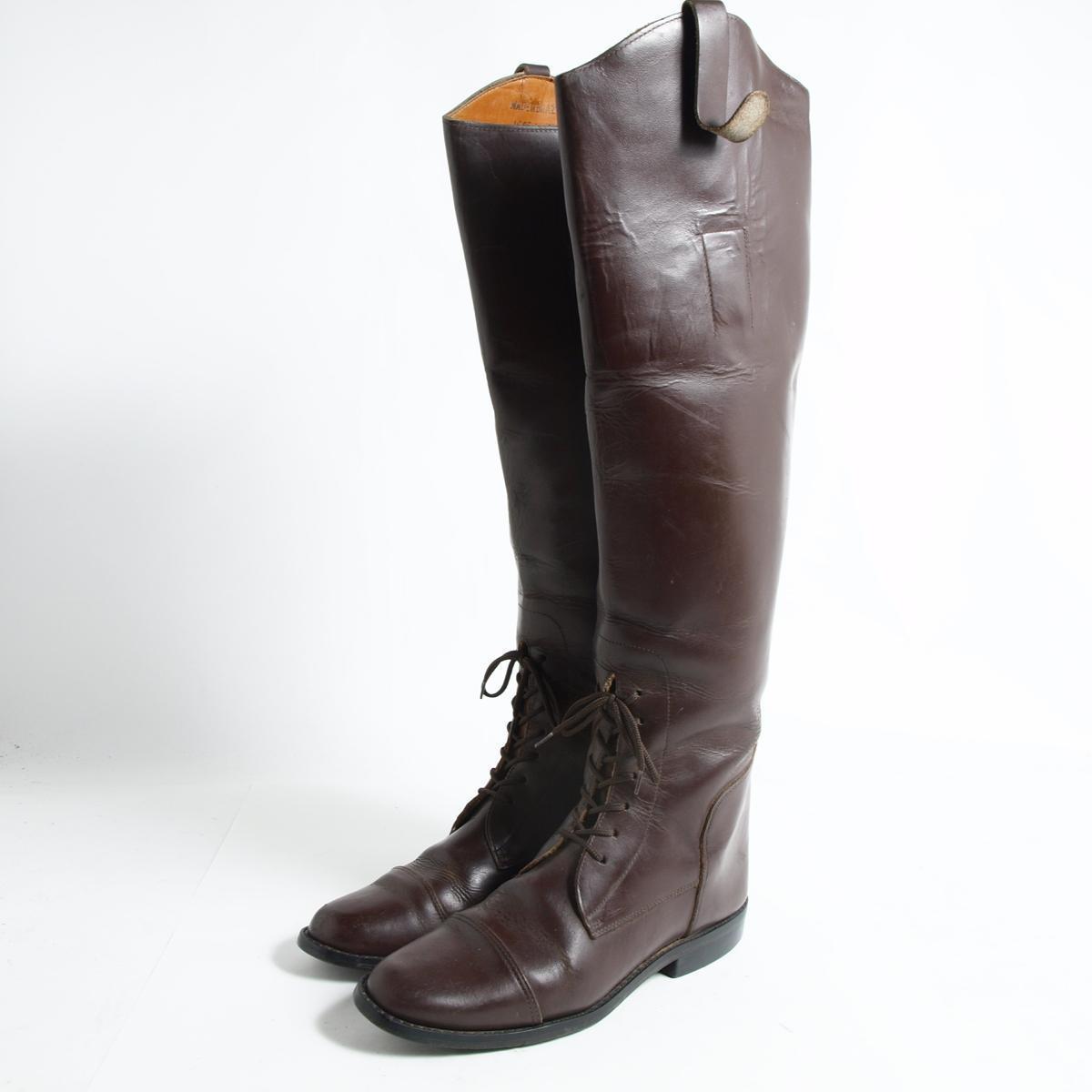 ジョッキー乗馬ブーツ 5.5M レディース23.5cm /bok4230 【中古】【古着屋JAM】 【161126】【SS1903】