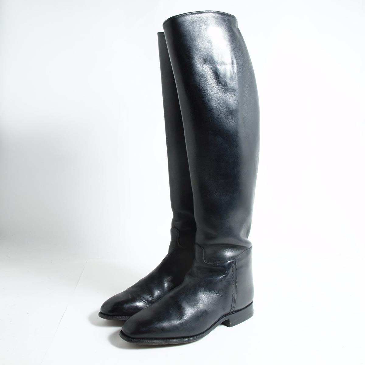 本革レザー ジョッキー乗馬ブーツ 6 レディース24.0cm /bok5066 【中古】【古着屋JAM】 【161207】【SS1903】