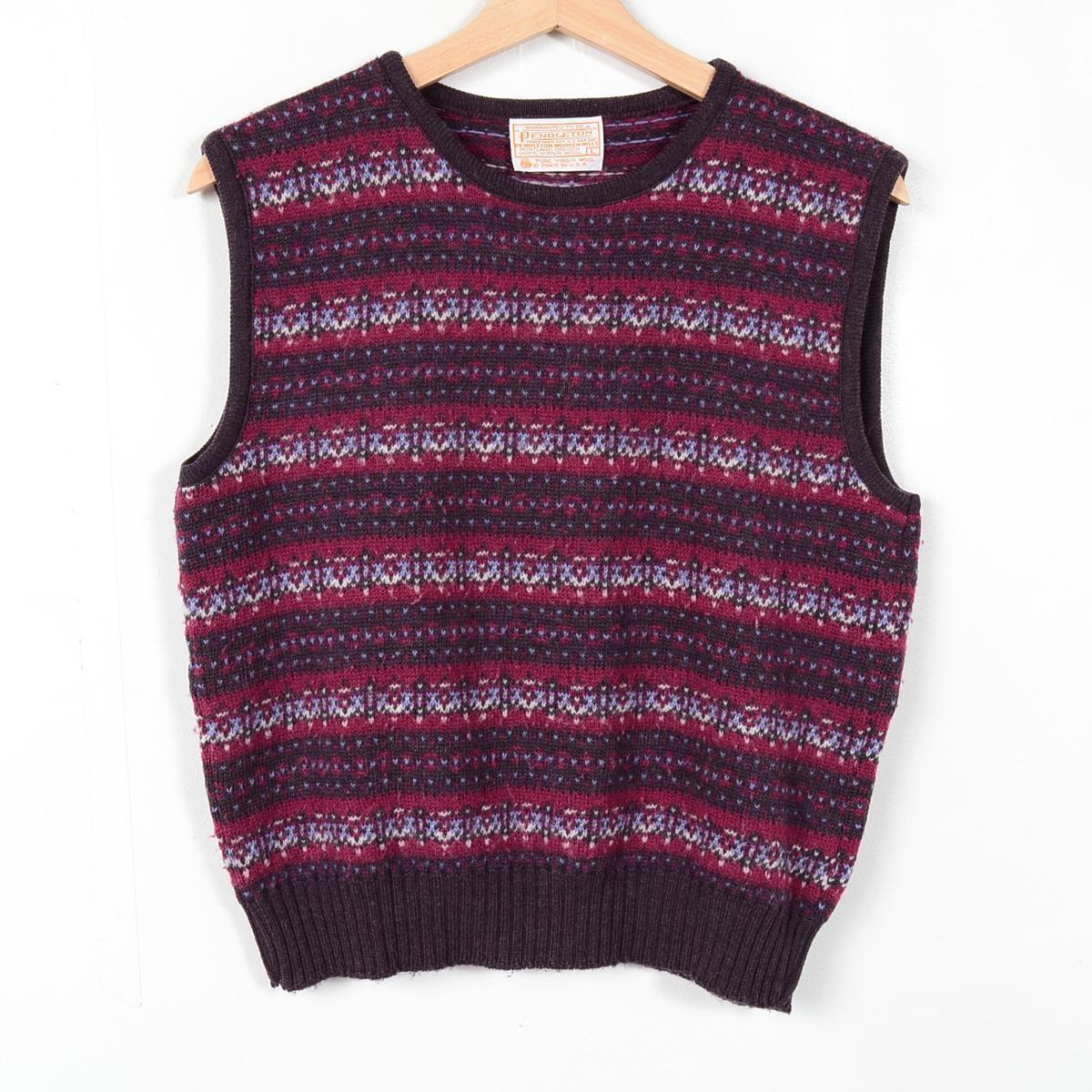 VINTAGE CLOTHING JAM | Rakuten Global Market: Fair Isle pattern ...