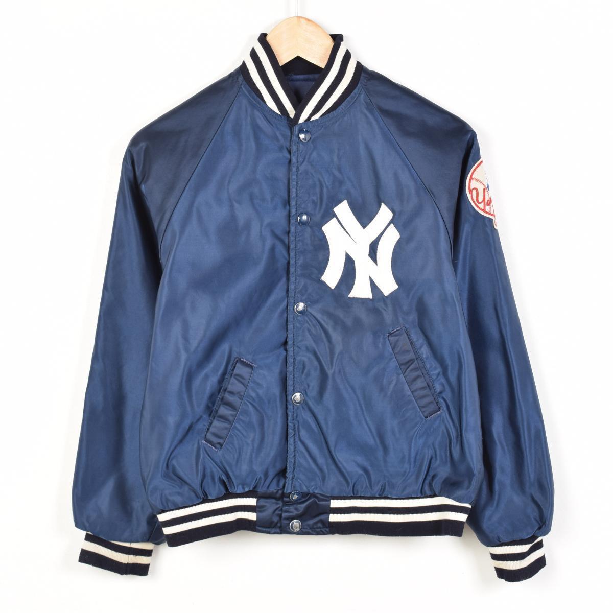 Starter MLB NY YANKEES New York Yankees nylon award jacket Award jacket  YOUTH Lady s M Starter  wez8710 10619dd8e8d