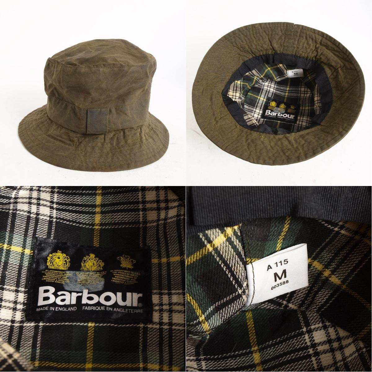 90年代3 warantobabua英国制造oirudokottonhatto Barbour/anb3429