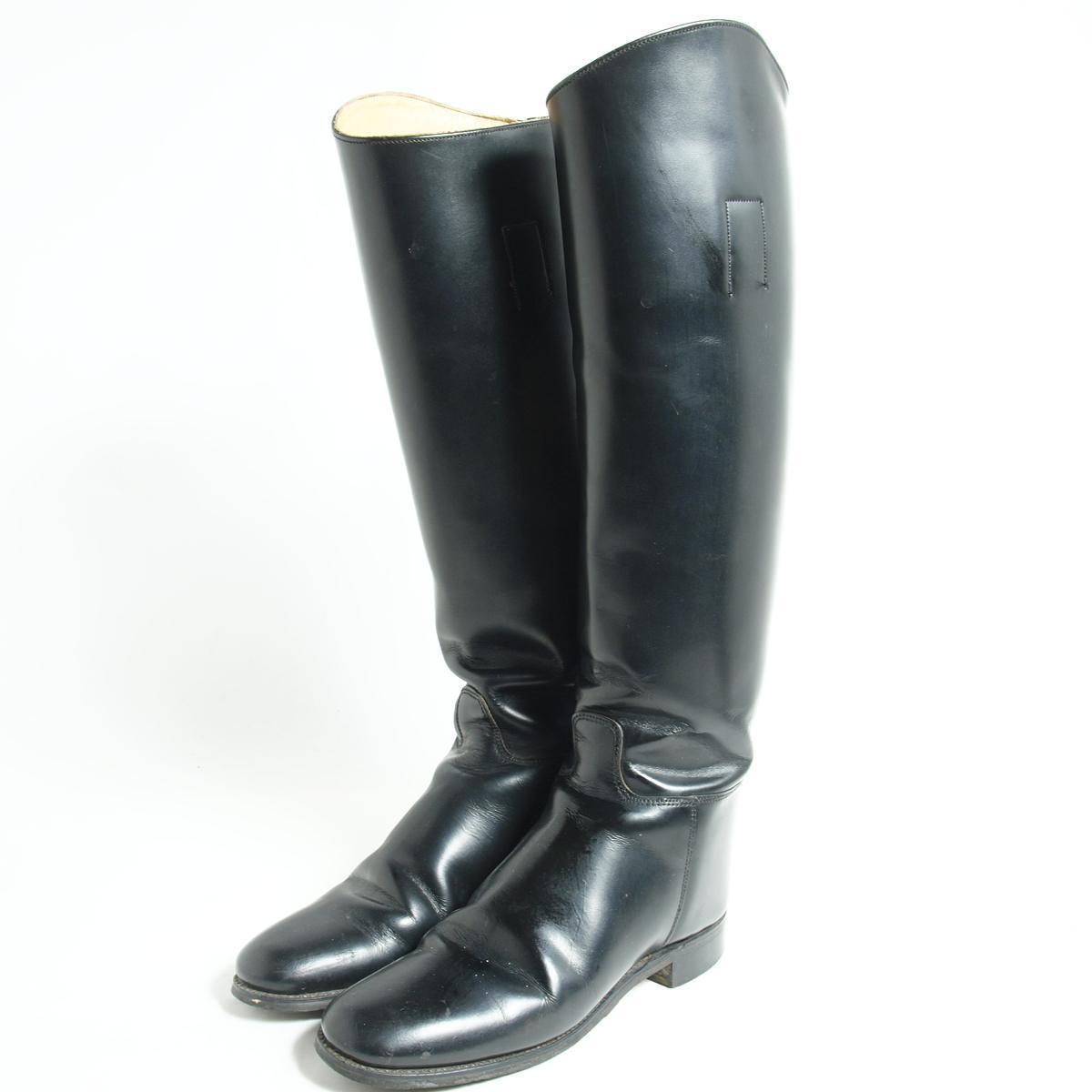 英国製 ジョッキー乗馬ブーツ UK5.5 レディース23.5cm marlborough /bok2175 【中古】 【170128】【SS1903】