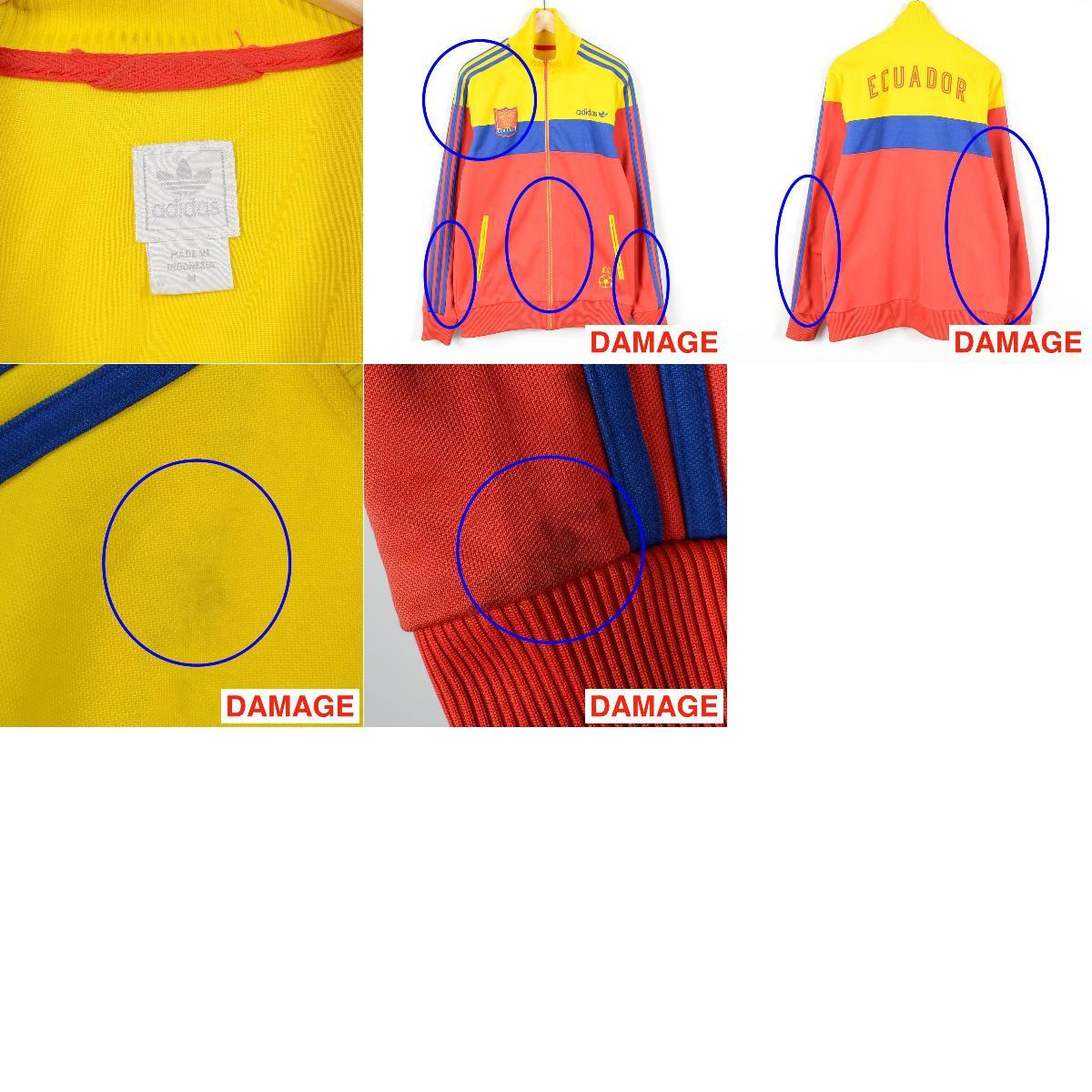 阿迪达斯ORIGINALS原始物厄瓜多尔型号运动衫卡车茄克人L adidas/wez0756