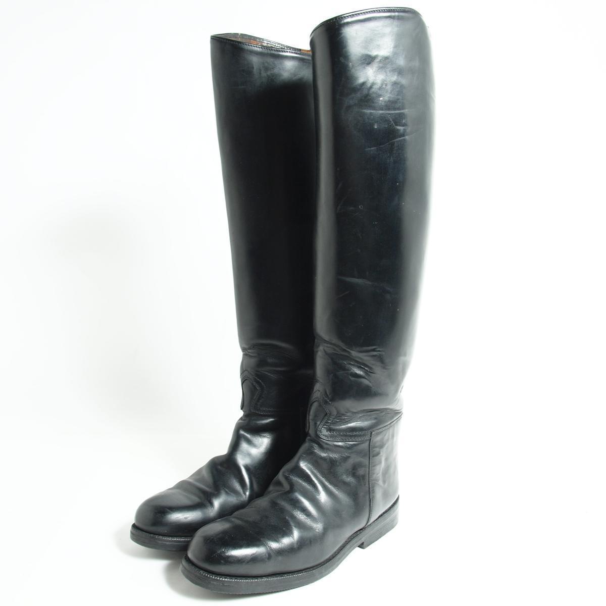 本革レザー ジョッキー乗馬ブーツ 5.5 レディース23.5cm /bok2240 【中古】 【190110】