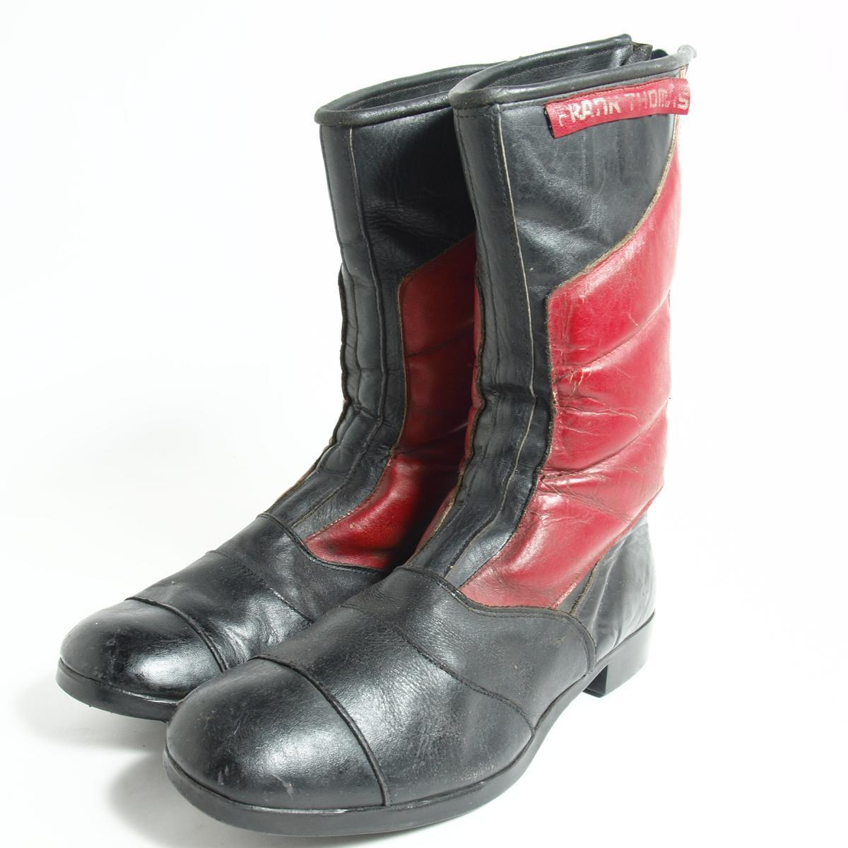 Vintage Clothing Jam Motorcycle Boots Men 25 5 Frankthomas Bok2436