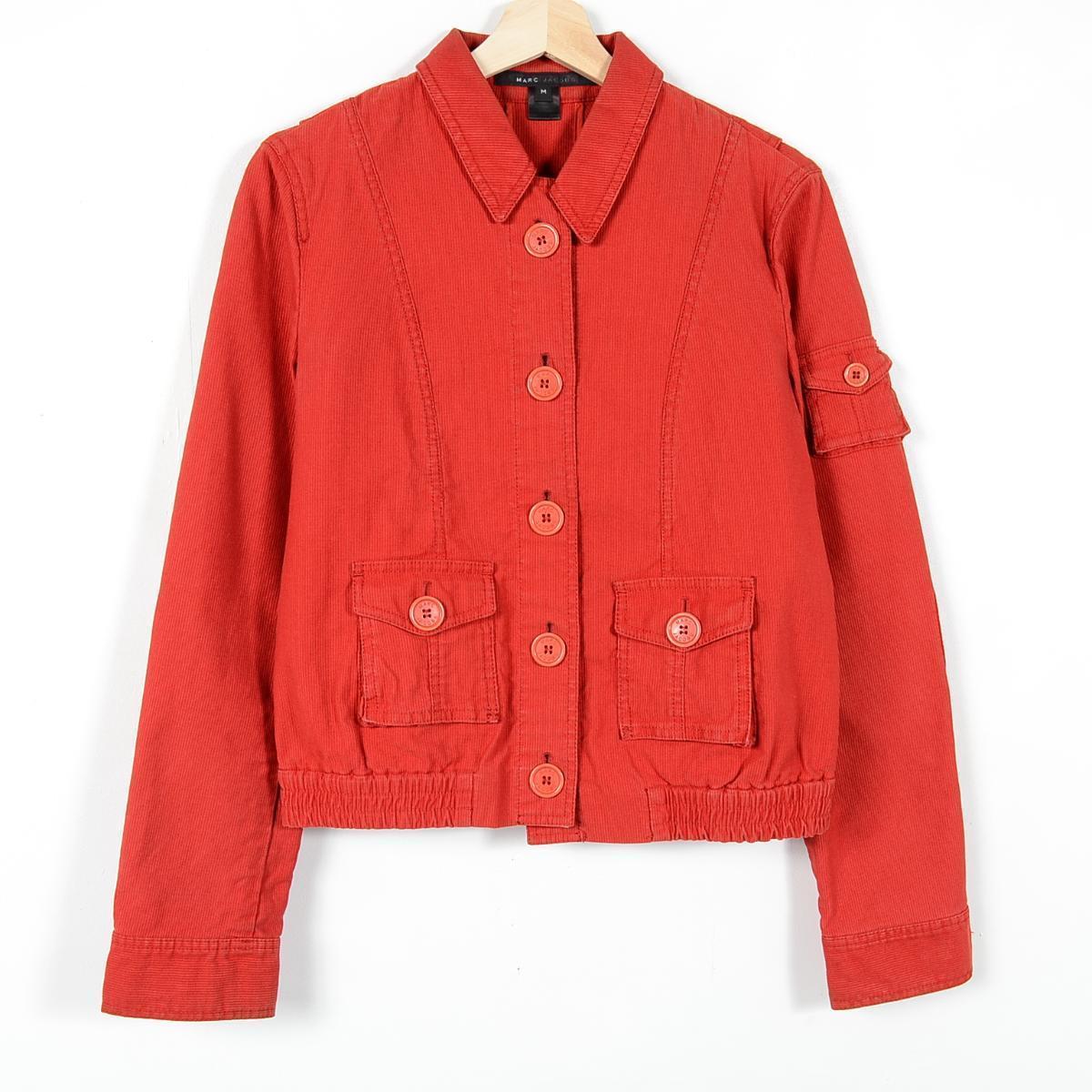 Vintage Clothing Jam Cotton Jacket Lady S L Marc Jacobs Wez0825