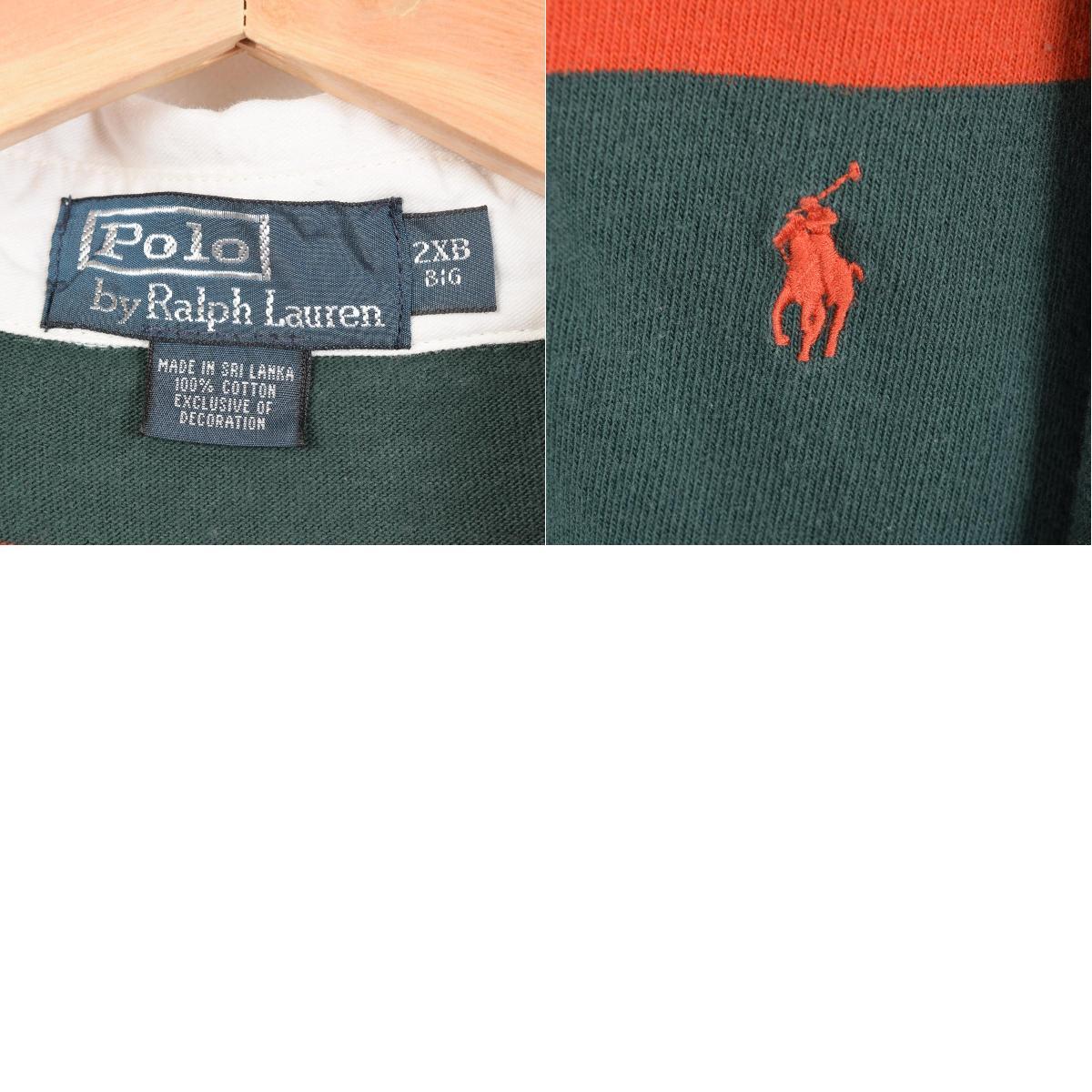 拉尔夫劳伦POLO by Ralph Lauren食物从属于的橄榄球衬衫人XXL Ralph Lauren/wex7980