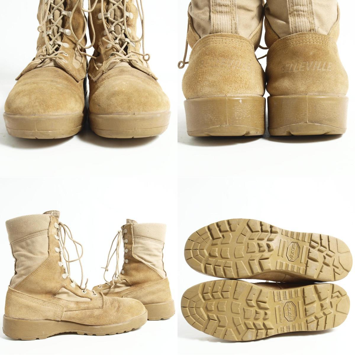 贝尔维尔USA制造军事陆军长筒靴9.5R人27.5cm BELLEVILLE/bok2862
