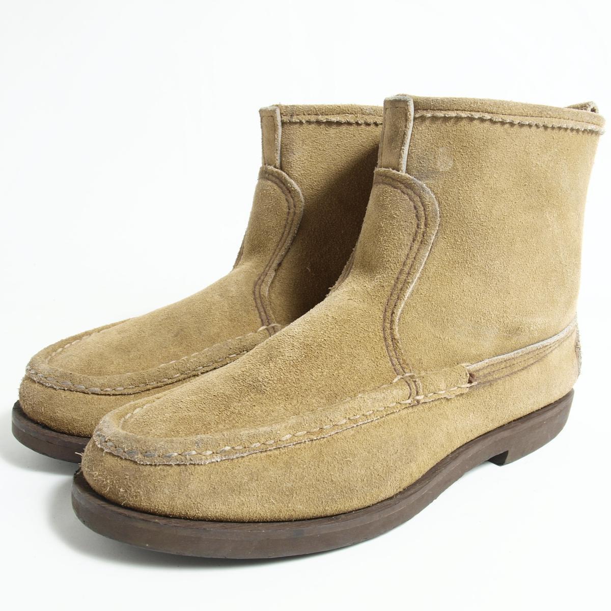 ラッセルモカシン Knock A Bout Boots USA製 モカシンブーツ 7.5EE メンズ25.5cm RUSSELL MOCCASIN /bok7203 【中古】 【170226】
