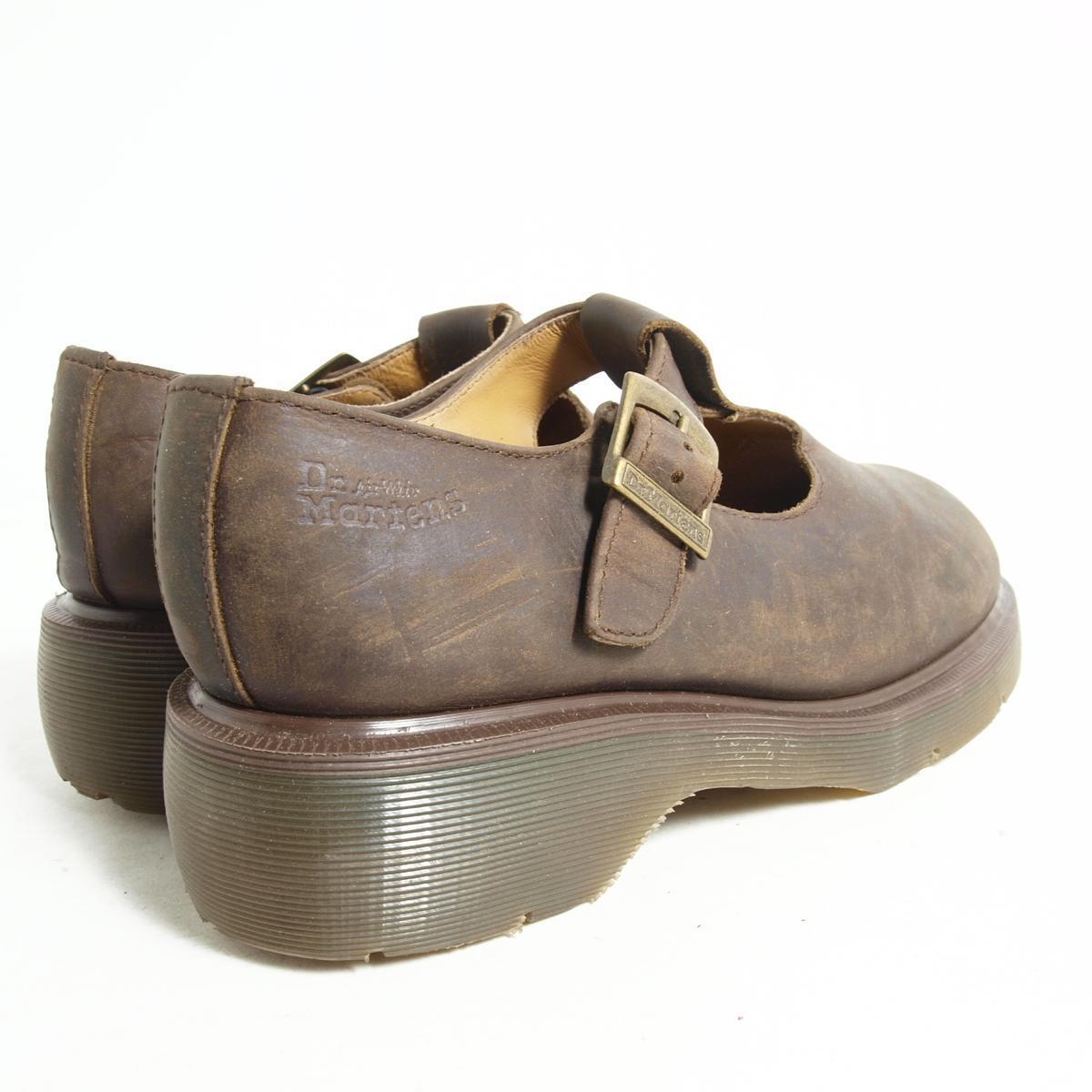 Strap shoes UK7 men 25.5cm Dr.Martens /bok7455 made in the doctor Martin U.K.