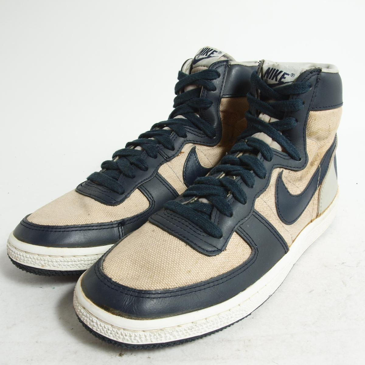 huge discount 280f5 274d9 Sneakers US8 .5 mens 26.5cm vintage NIKE bok8091 in the 80s made in Nike  TERMINATOR HIGH terminator canvas Korea